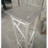 350*350*8mm Aluminum Spigot Plate Table for Beam  Lights on 1 Meter Truss Manufactures