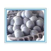 China HRC 55-65 Forged Grinding Media Balls For Mining , High hardness wholesale