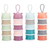 China Narrow Footprint Portable Infant Food Container Multi Layers Practical on sale