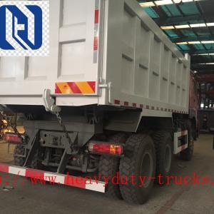 Left Hand Drive Heavy Duty Dump Truck , 10 Wheels New Dump Truck 6x4 Manufactures