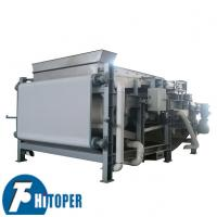 Rotary Drum Dehydrating Filter Press Machine Waste Water Treatment Usage Manufactures