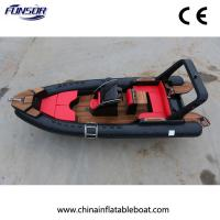 New Type Rib Boat Fiberglass Hull Suitable for Big Family or Travel Agency (FHH-R700) Manufactures