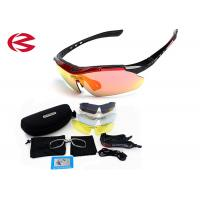 UV Protection Anti Scratch Interchangeable Lens Goggles Uv400 With Hard Case Manufactures