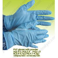 Sterile Powdered PVC Examination Gloves for Sale Manufactures