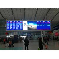 P5mm SMD2121 Indoor Advertising LED Display Or Railway Station Message Board Manufactures