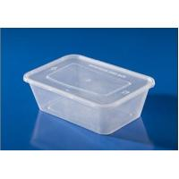 China Microwave safe food container plastic lunch box 500ml - 1500ml  meal prep containers food on sale