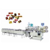 Automitic Square Chocolate Packaging Machine Frequency Control Speed Manufactures