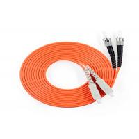 SC ST Fiber Optic Patch Cord Multi Mode Duplex Patch Cable Jumper 3 Meter Manufactures