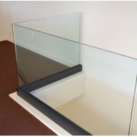Aluminum Frameless Glass Balcony Blaustrade Safety Fence With CE/SGCC Approval Manufactures