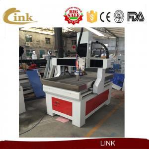 ISO CNC Router Machine 6090 Mini Wood Cutting Machine For PCB / PVC / Aluminum Manufactures