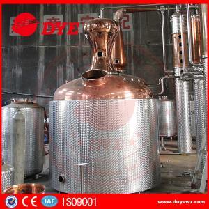 Custom Ethanol Distillation Column , Steam Distillation Apparatus Manufactures