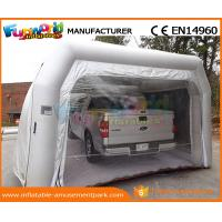 PVC Tarpaulin Inflatable Party Tent Paint Spray Booth Inflatable Car Wash Tent Manufactures