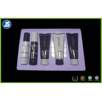 China Purple Plastic Cosmetic Trays , Vacuum Formed PET Skin Care Blister Packaging on sale
