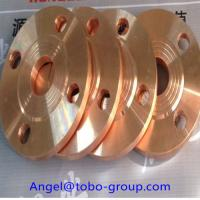 China Copper-nickel alloy flanges CuNi 90/10 Welding Neck Flange. on sale