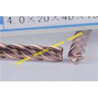 Long Flute Type Square High Speed Cutting Tools With 20 mm Cutting Length Manufactures
