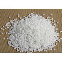 White Fiberglass Reinforced Polyamid PA 6 Round Granule For Power Tool Parts Manufactures