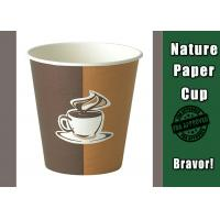 China PE Lined Disposable Hot Drink Cups 12 oz Single Wall With Logo Custom Printing on sale