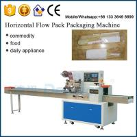 chopsticks spoons wrapping machine / pillow automatic packaging machine Manufactures