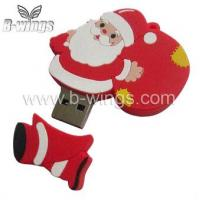 Christmas 2GB Soft PVC USB Flash Disk/USB Pen Driver (BW070) Manufactures