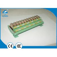 12 Road Optocoupler Relay Channel Module Boards , Weidmuller Relay PLC Amplifier Board Manufactures