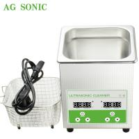 Ultrasonic Cleaner  Sonic Bath 2l Household Use Jewelry Polishing Electronic Jewelry Cleaner Manufactures