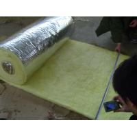 Glass wool with aluminium foil backing density 24kg/m3 1200*15000*50mm glasswool Manufactures