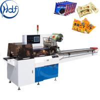 Pillow Type Automatic Food Packing Machine 1.6 Kw For Ice Cream Packing Manufactures