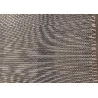 Quality Large Hole Size Balanced Weave Conveyor Belts 304 Stainless Steel For Cooling for sale