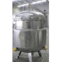 Industrial Sterilization Equipment Vertical Autoclave For Herb Products / Log Manufactures