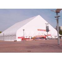 White PVC Roof Material Custom Event Tents Wind Resistant For Ceremony / Church Manufactures