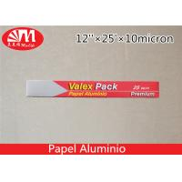 Recyclable Heavy  Household Aluminum Foil , Industrial Aluminum Foil Rolls Food Packaging Manufactures