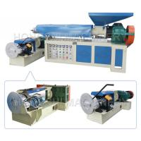 Waste PP PE Film Plastic Recycling Machine , Plastic Granules Machine 11KW Power Manufactures