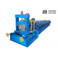 312 Roof Tile Roll Forming Machine , PLC Control Ridge Cap Roll Forming Machine Manufactures