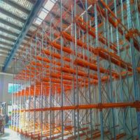 Heavy Duty Drive In Racking System Space Saving Corrosion Protection For Warehouse Manufactures