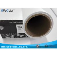 Latex Media Pure Polyester Canvas Roll For Large Format Printers Manufactures