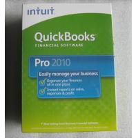 Quickbook professional  2010 retail box Manufactures