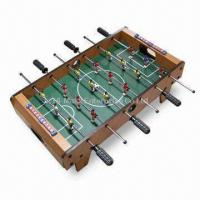 Quality Mini Foosball Table Game with Feet and 6 Poles for sale
