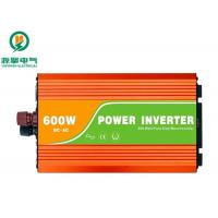 China Single Phase High Frequency Sine Wave Inverter 600W 12V To 220V Strong Load Capacity on sale