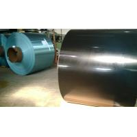 Blue / Golden hydrophilic coated Aluminum foil with thickness 0.2MM Various Width For aluminium  Fin Stock
