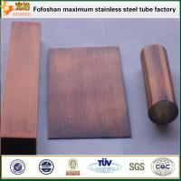 304 Bronze Stainless Steel Pipe Standard Sizes Manufactures