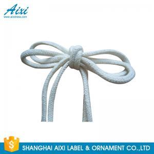 100% Cotton Webbing Straps Printed Flat Cotton Elastic Cord Shoelace Manufactures
