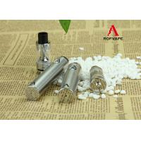 China 18650 Battery Silver Stainless Steel Vaporizer Pen Kit Max Output Current 20A on sale