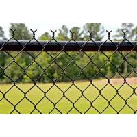 China Vegetable Garden Chain Link Panels Regular Standard Temporary Fence PVC Coated / Galvanized on sale