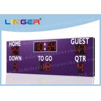 Wireless Buttons Controller Box LED Football Scoreboard for American Football Club Manufactures