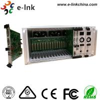 5U 16-Slot Rack Mount Card Type 4K DVI KVM Video to  Fiber Converter with Two-Year Warranty Manufactures