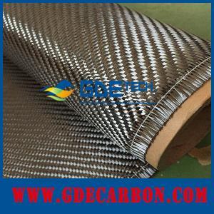 China 360g twill/plain carbon fiber cloth supplier on sale