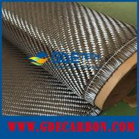 China 360g twill/plain carbon fiber fabric supplier on sale