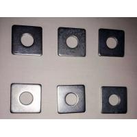 Thin Hardened Square Metal Washers Din125 High Precison Hardware Fastener Manufactures
