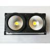 Buy cheap Pure White  COB LED 2 Eyes DMX Theater Stage Lighting 100 Watt / 200 Watt from wholesalers