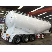 3 axle powder bulk cement trailer for transporting bpw brand air suspension Manufactures